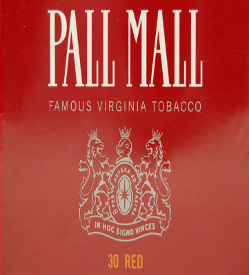 Cigarettes Capstan by Pall Mall Photo,  Cigarettes Capstan by Pall Mall
