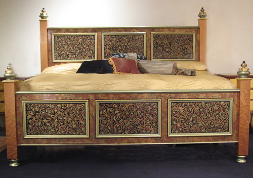 Hand Painted Double Bed Buy Hand Painted Double Bed