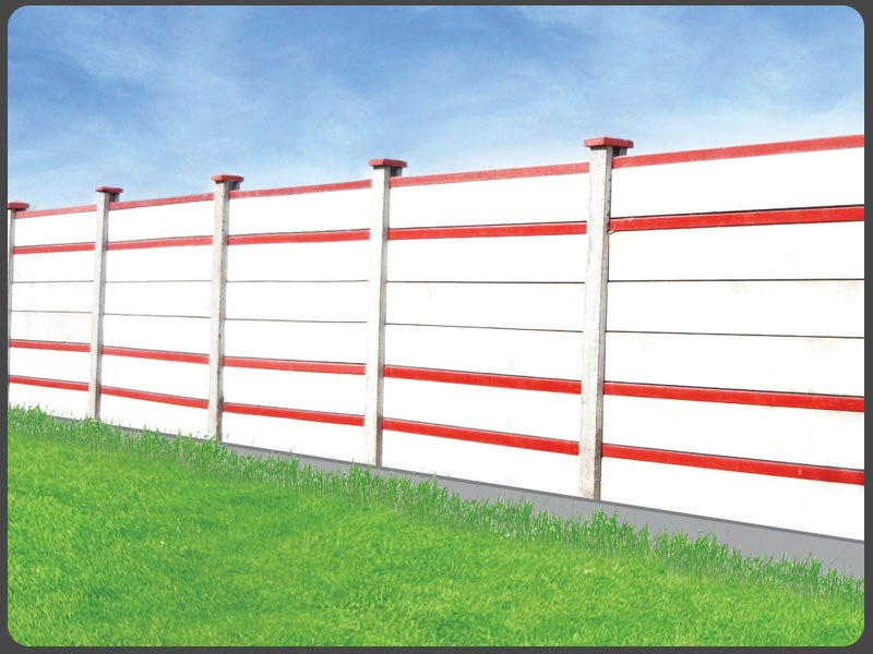 Buy Boundary Walls > H-Columns with Planks