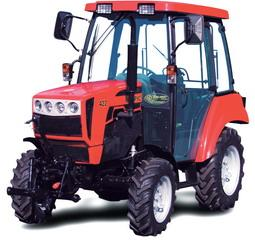BELARUS310 -tractionclass 0.6with an engine of36 hpis a modificationof the tractorBELARUS 320,made by4x2,equipped with afront axle,cabin ortent-frameorroll bar.