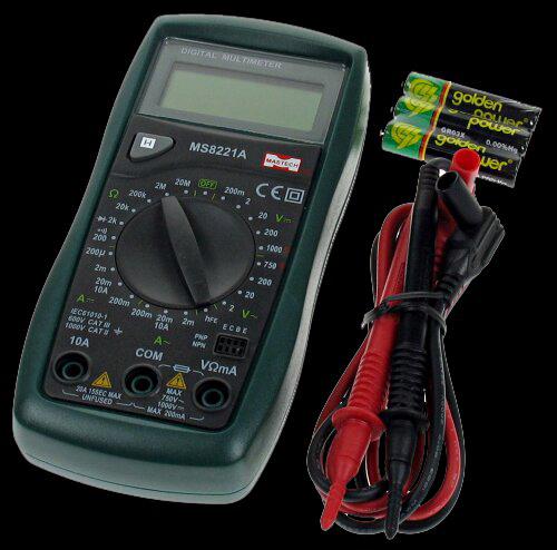 Buy Brand:-Mastech Model:-Multimeter MS8221A