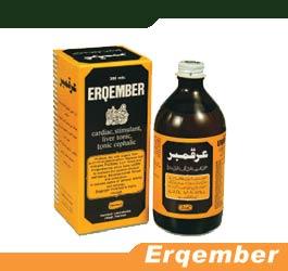 Fortified stimulant, liver tonic & tonic cephalic, Erqember