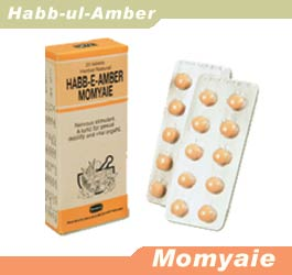 Nervous stimulant, a tonic for sexual debility and vital organs, Habb-e-Amber Momyaie