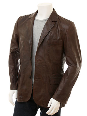 Brown Leather Jackets Buy In Karachi