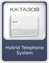 Buy Hybrid telephone system - KX-TA308