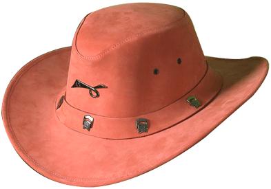 Buy NUBUCK LEATHER HAT