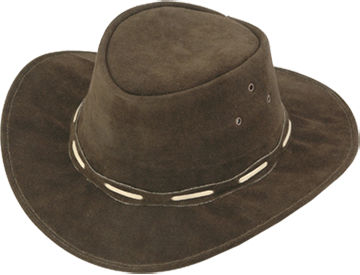Buy Suede Leather Hat