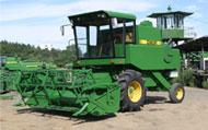 JD3080 combine harvester