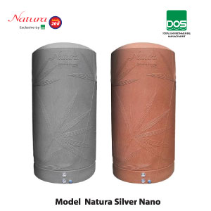 Buy Water storage tanks model natura silver nano