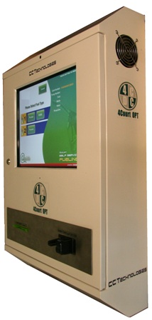 4Court OPT - outdoor payment terminal for fuel retail buy in