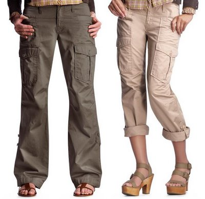 cargo pants for girls online - Pi Pants