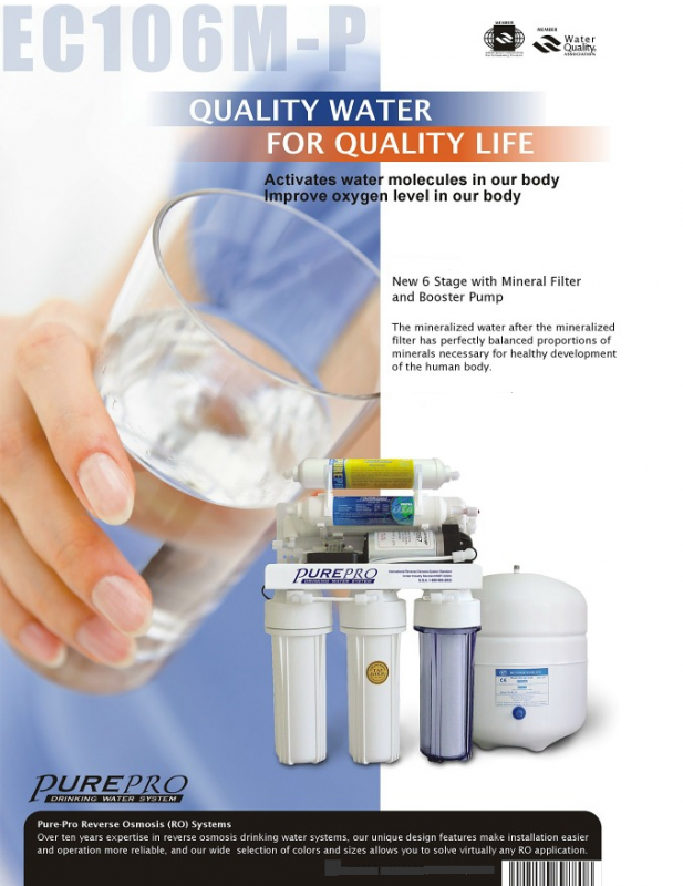 Buy Domestic water filter Pure Pro Lahore