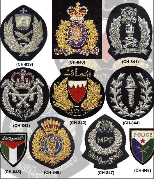 Police Bullion Badges buy in Sialkot