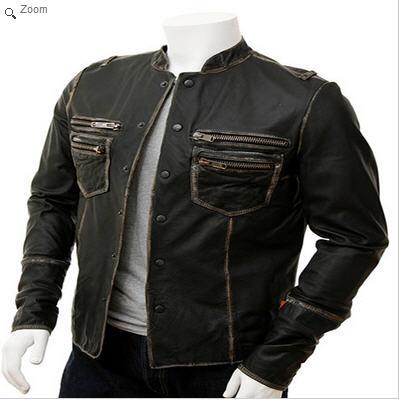 Leather Fashion Jacket, Sialkot