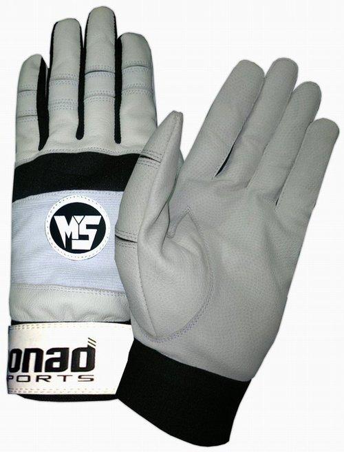 Buy Gray baseball batting gloves