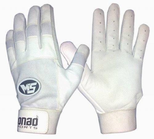 Buy White baseball batting gloves