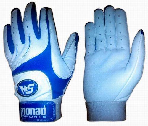 Buy Blue white baseball batting gloves