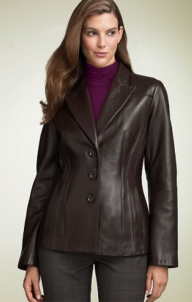 Ladies Leather Jackets — Buy Ladies Leather Jackets, Price , Photo ...