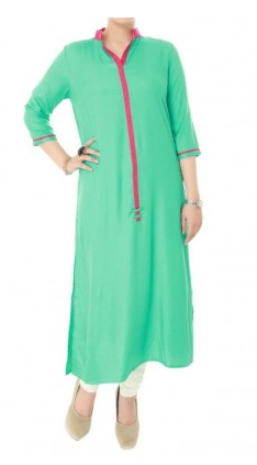 Buy IVORY Indian Hand Embroidered Kurta Tunic Women's Cotton Fabric 2013
