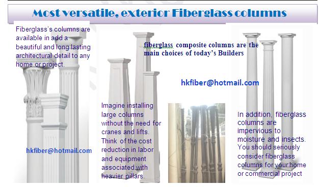 Buy Fiberglass composite columns