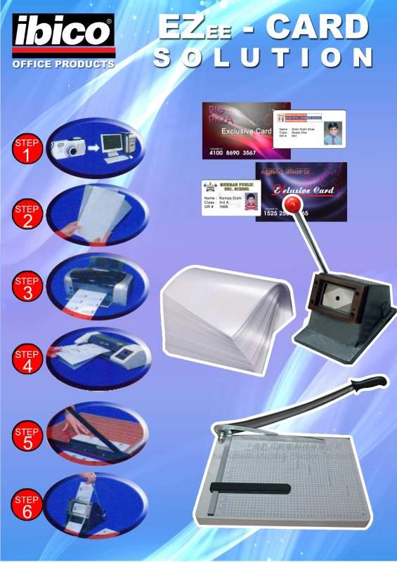 Buy Ibico PVC Card Solution