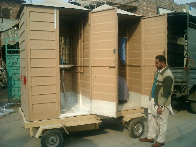 Buy Fiberglass mobile wash room