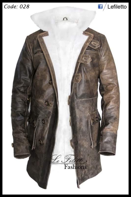 Buy Bane Trench Coat / Long Coat from BatMan The Dark Knigh Rises