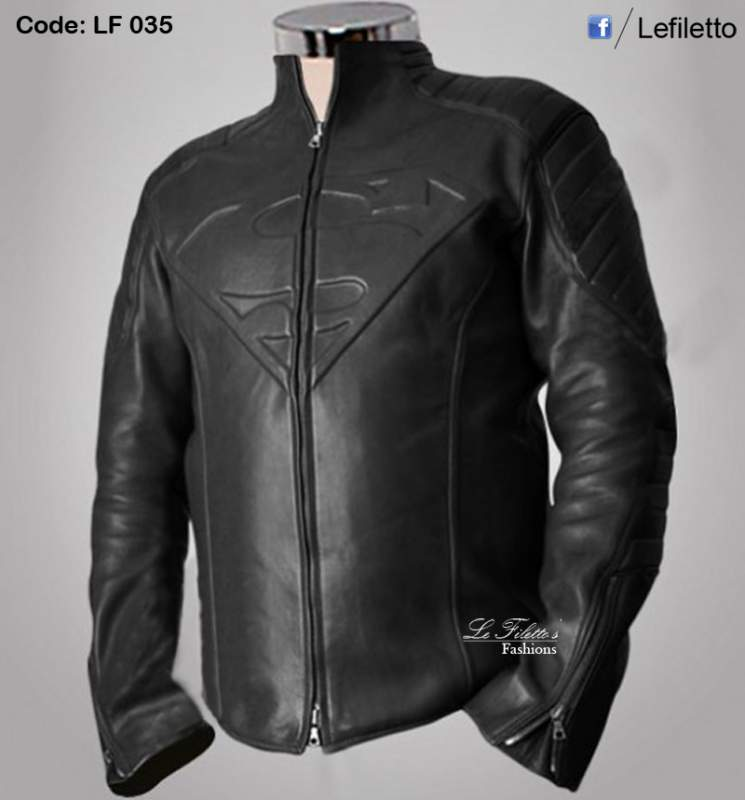 "Buy Super Man Leather Jacket ""Smallville Series"""