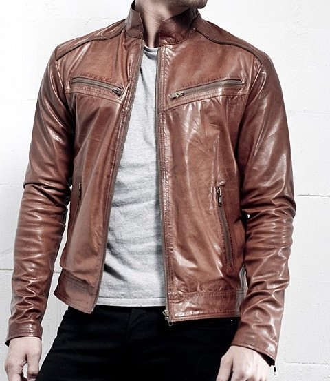 Leather Fashion Jackets for sale in Lahore on English