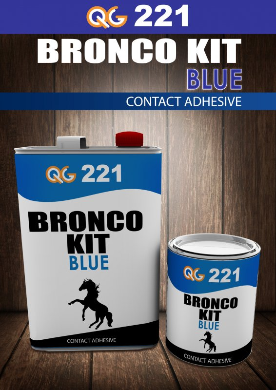 Buy Bronco Kit(PU & CONTACT ADHESIVE for Wood,Tiles, Rubber, Plastic, Leather, Carpet Industry)
