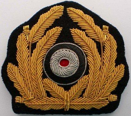 840c676c45e WWII German Kriegsmarine Visor Cap Badge buy in Sialkot
