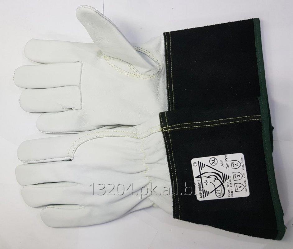 Buy Alif-4009C2 Cut-Resistant Gloves cut level ANSI A2