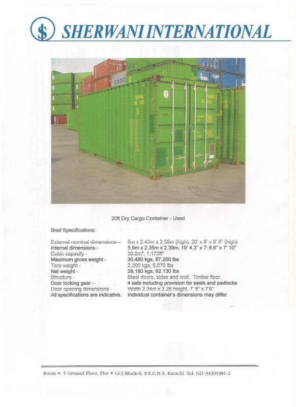 Buy New & used containers for sale