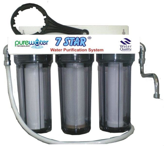 Buy 7 star water filter 3 stage unite