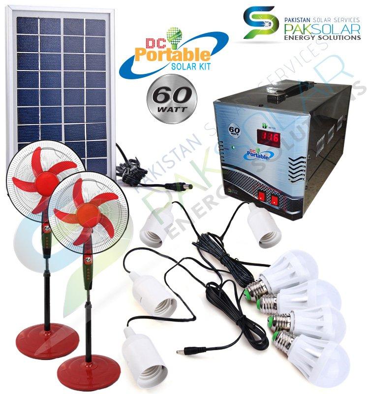 Buy 60W Solar Portable DC System Kit