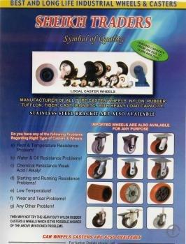 Buy Trolley wheel,Rubber wheel,Caster wheel,Nylon wheel,Phenolic wheel