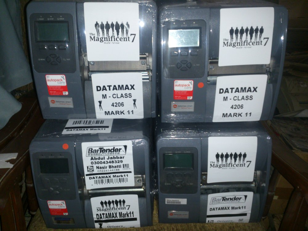 Datamax o,neil M class Mark II barcod label printer.