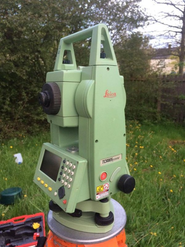 Buy Leica (Switzerland) Total Station Model TCR805