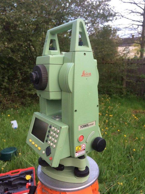 Buy Leica (Switzerland) Total Station Model TCR805