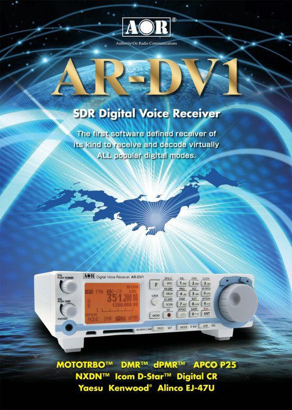 Buy AR-DV1, Digital Receiver for Military