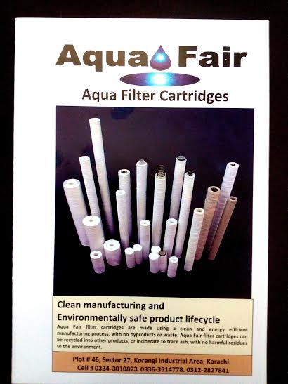 Buy Aqua Fair Filter Cartridge (Clean manufacturing and Environmentally safe product life cycle)