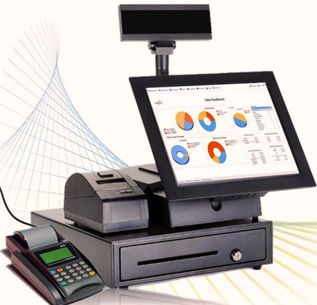 Buy CPTPOS, all-in-one Point of sales desktop system with hardware- for your branded retail outlets,