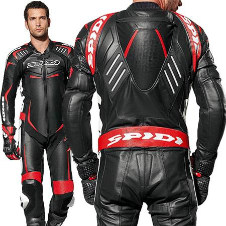 Leather motor bike suit