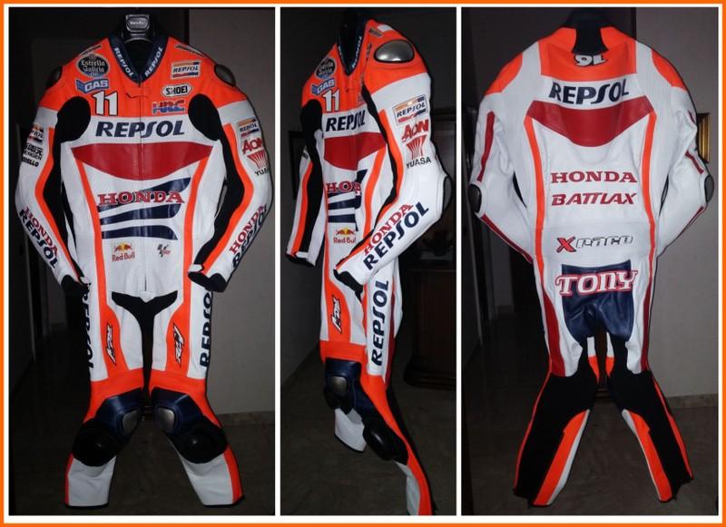Buy Honda repsol leather racing suit