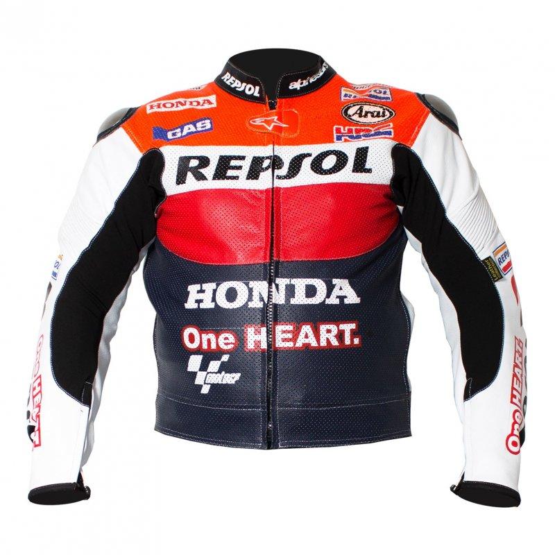 Buy Racing Repsol R2 Leather Motorcycle Jacket
