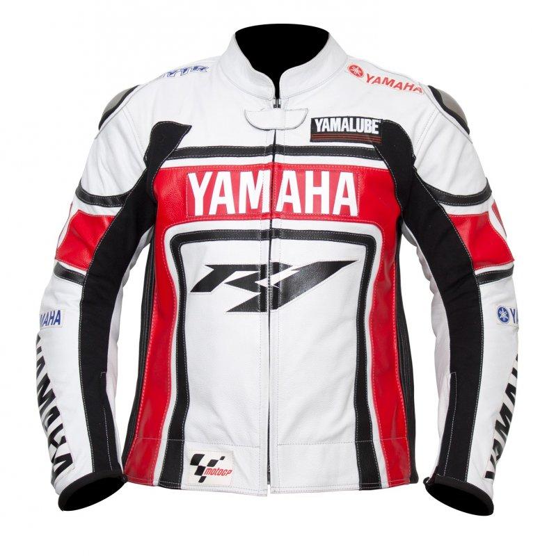 Buy Racing Yamaha Y1 Leather Motorcycle Jacket
