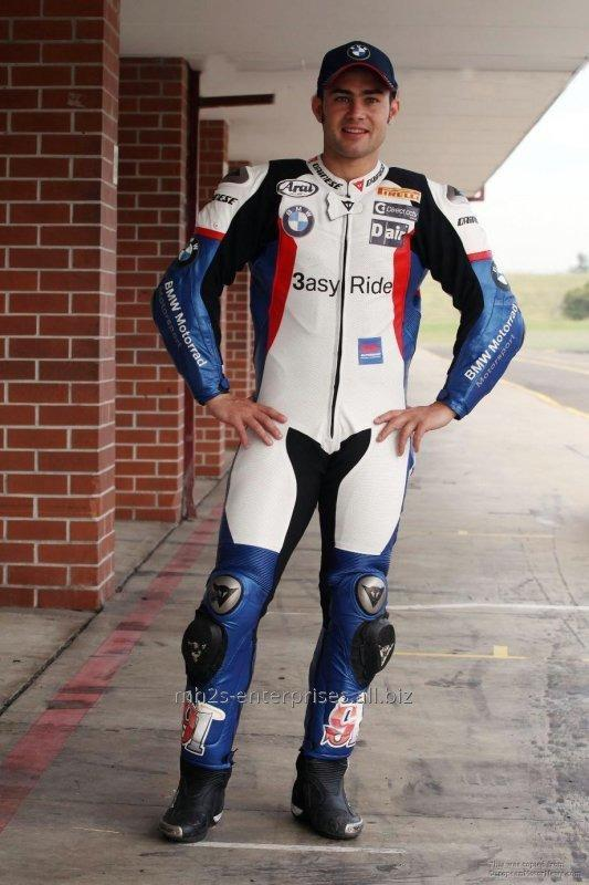 Leather Racing Suit for Biker