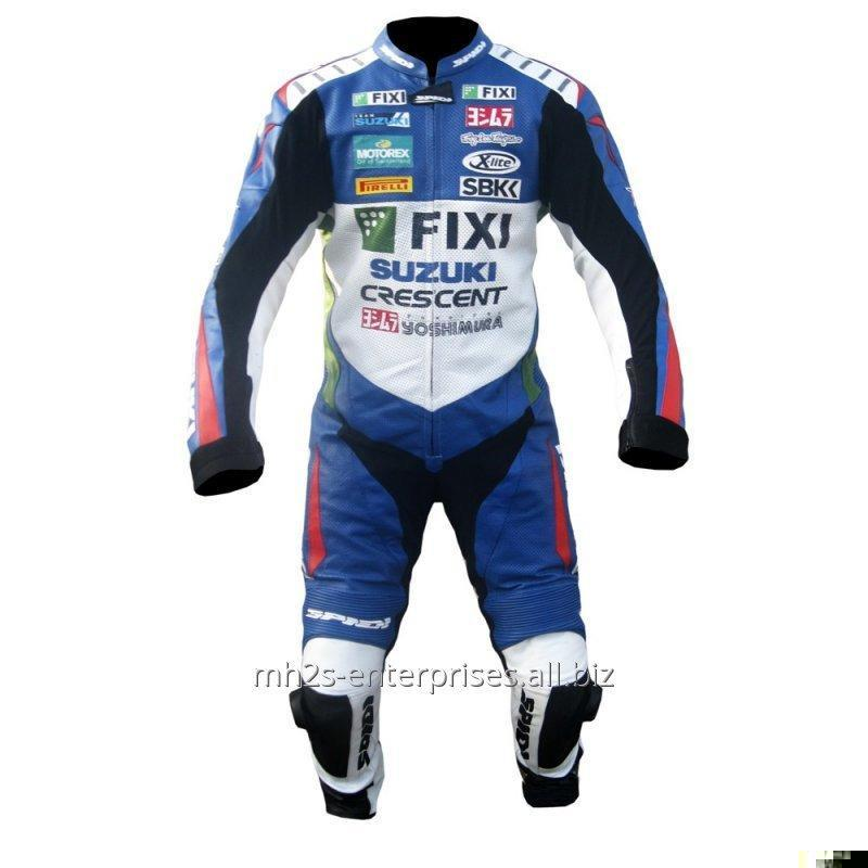 Buy Motorcycle leather suit for Professional Biker Suzuki FIXI