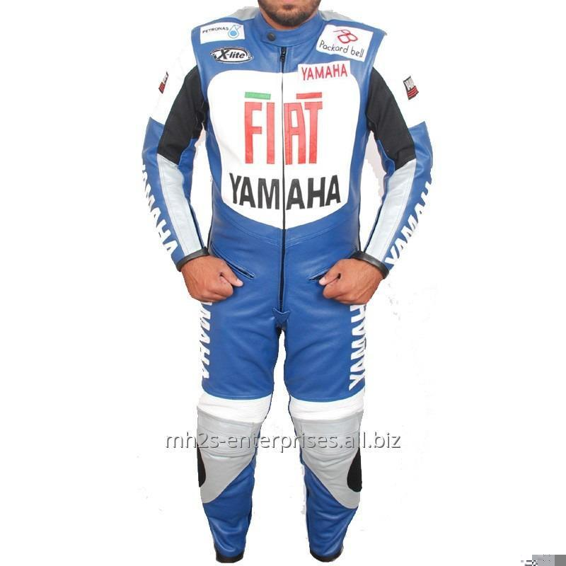 Buy Fiat racing Motorcycle leather suit