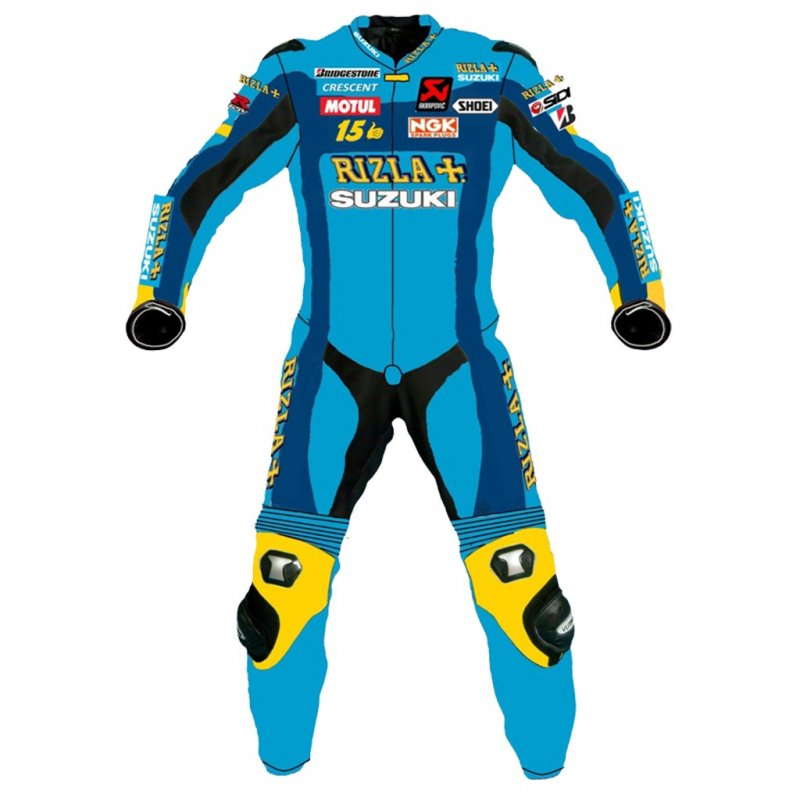 Buy Suzuki Rizzla Motorbike Racing Leather suits